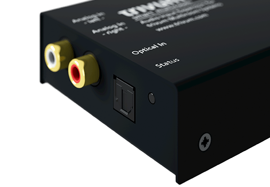 trivum Accessories InStreamer analog LineIn and optical Digital-In (TOSLINK)