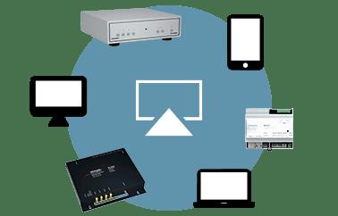 trivum Multiroom Player unterstützen AirPlay